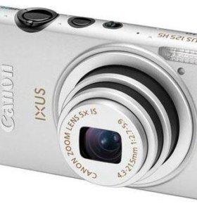 Canon ixux 125 hs silver