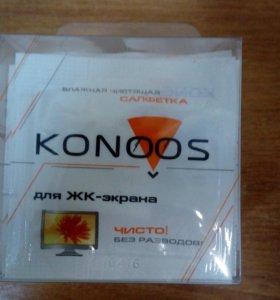 Чист. салфетки Konoos KTS-20 для ЖК-экранов 20шт