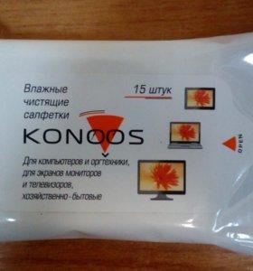 Cалф Konoos KSN-15 для ЖК-экранов ноутбуков 15 шт.