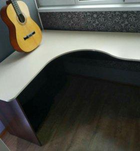 Компьютерный угловой стол (венге) 150