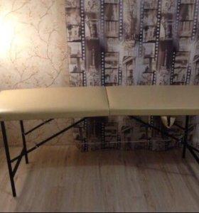 Массажный стол+подушка. Доставка по городу.