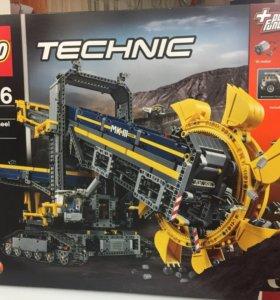 Новый Lego Technic 42055 роторный экскаватор