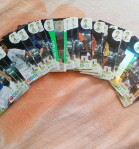 Карточки футбол 2014