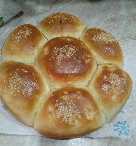Пеку домашний хлеб ,булочки.