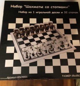 "Набор ""Шахматы со стопками"""