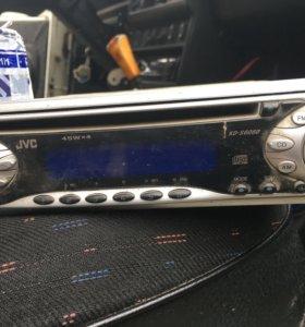 JVC автомагнитола cd
