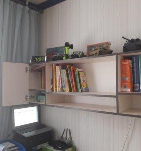 Навесной шкаф и стол(можно отдельно)