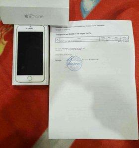 Телефон iPhone 6,silver, 16Gb продам