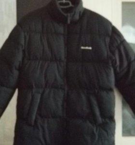 Куртка мужская пуховик подкладка флис