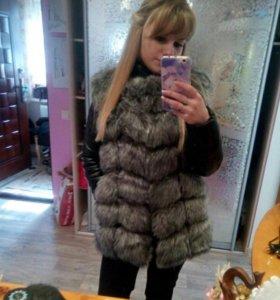 Зимний костюм,куртка новая мех
