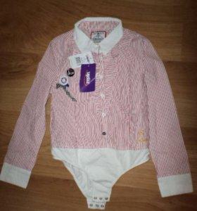 Детская рубашка-боди для девочки