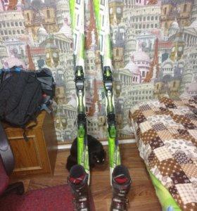 Лыжи горные