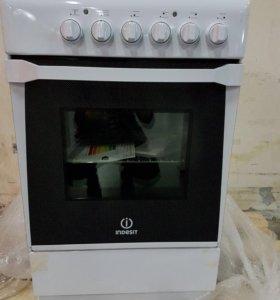 Плита электрическая Indesit KN1E17(W) /RU