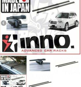 Поперечины, крепеж и замки, комплект INNO (Япония)
