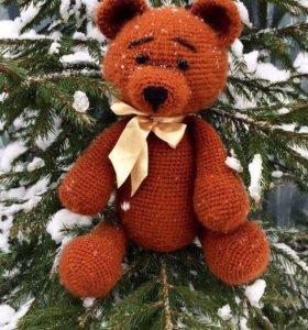 Вязаные игрушки медведь аристократ 🐻
