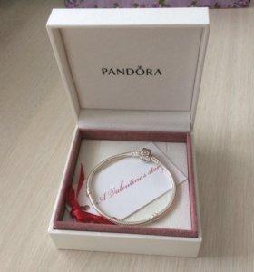 Pandora Браслет из серебра (новый)