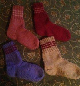 Продам вязаные носки
