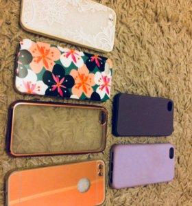 Чехлы iPhone 5/5s/se и 1 на 4/4s