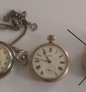 Коллекция карманных часов СССР