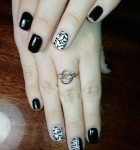 Покрытие ногтей гель-лаком (маникюр)