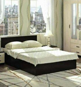 Кровать 1,4м*2м Ронда венге новая в упаковке