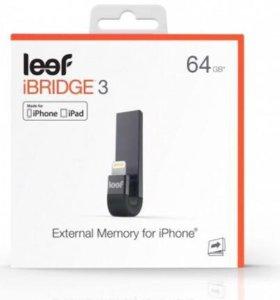 USB-флешка iBridge 3 64Gb черный для Вашего iPhone