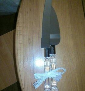 Нож и лопатка