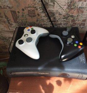 Xbox 360 на 120 Гб