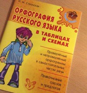 Орфография русского языка в таблицах и схемах
