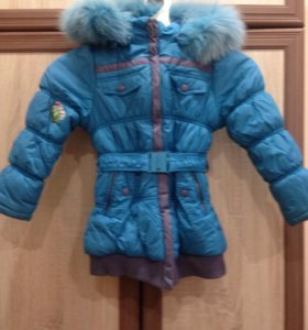 куртка на девочку 4-6 лет