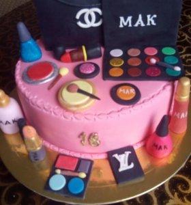 Торты и пироженые на заказ.