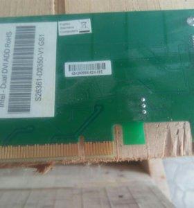Плата расширения на два монитора DVI