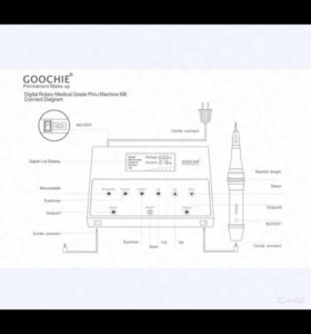 Машинка для татуажа Goochie M8