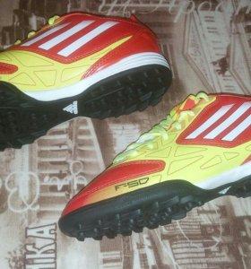Adidas f10 trx tf j бутсы