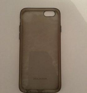 Прозрачный чехол на iPhone 6 - 6s