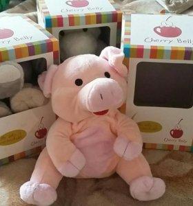 Игрушка-грелка свинка