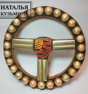 Руль из конфет КОРКУНОВ (PORSCHE)