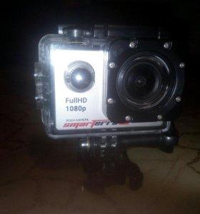 Экшн камера. В идеальном состоянии. На 8 гигов