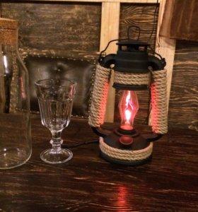 Декоративный светильник-ночник