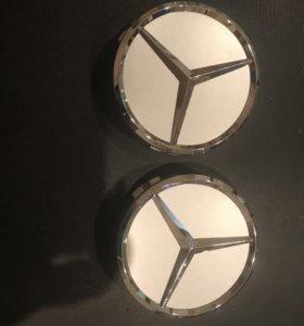 Крышки ступицы  Mercedes w204 w212