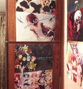 Плакаты аниме