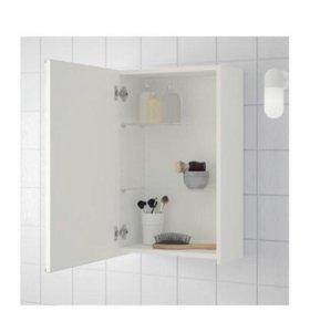 шкафчик с зеркалом для ванны