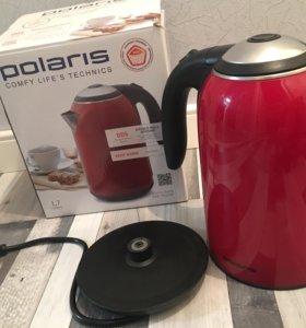 Чайник Polaris PWK 1766 сwr в идеальном состоянии