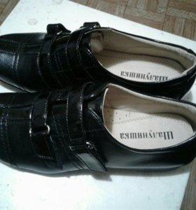 Туфли классика кожаные