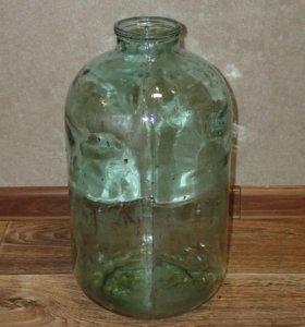 Бутыль банка 10 литров