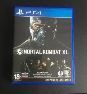 Mortal kombat xl на Ps4