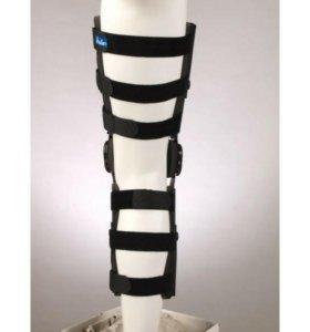 Ортез коленного сустава, дозирующий объем движений