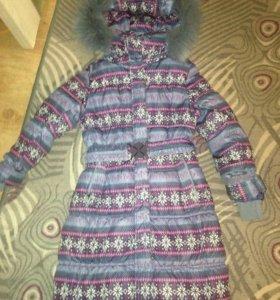 Пальто зимнее р.134