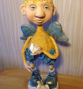 Кукла интерьерная кукла ручной работы