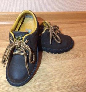 Ботинки для мальчика натуральная кожа 30-31 р-р